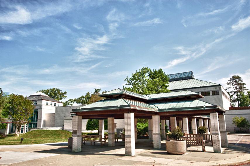 Virginia Museum of Contemporary Art exterior - Image via Virginiamoca org