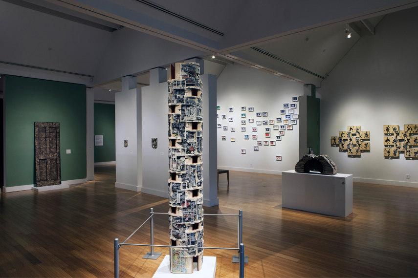 Virginia Museum of Contemporary Art interior - Image via Buisnesswire com