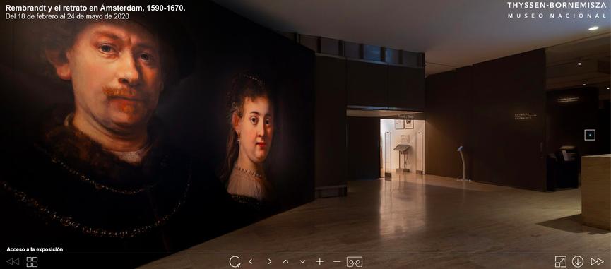 Virtual Tour of the Museo Thyssen-Bornemisza