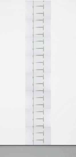Vito Acconci-20 Foot Ladder for Any Size Wall-1981
