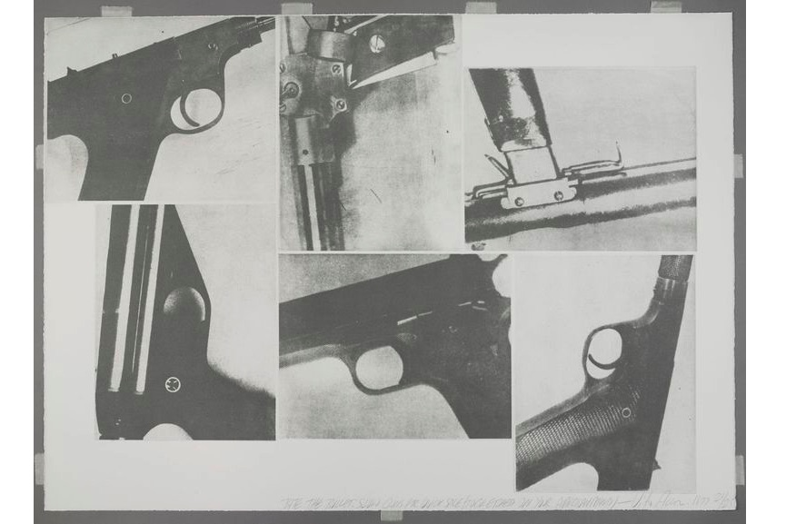 Vito Acconci - Bite the Bullet; Slow Guns for Quick Sale..., 1977