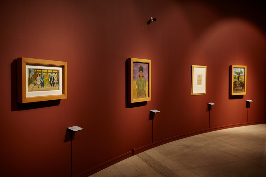 Viva la Vida Frida Kahlo and Diego Rivera - Installation view
