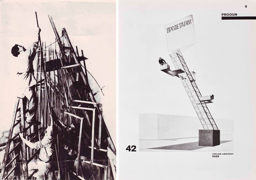Vladimir Tatlin - Constructing the Monument to the Third International / El Lissitzky & Hans Arp - The Isms of Art