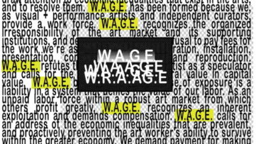 Minimum Wage for Artists
