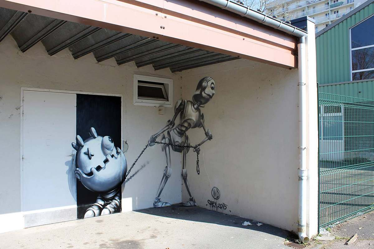 street art and murals WD
