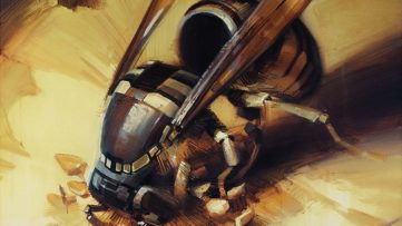 WES21 - Wasp (detail)