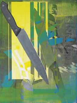 Wade Guyton and Kelley Walker - Untitled-2008