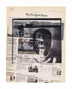 Wade Guyton-Untitled (The New York Times - Tuesday, August 12, 2014)-2014