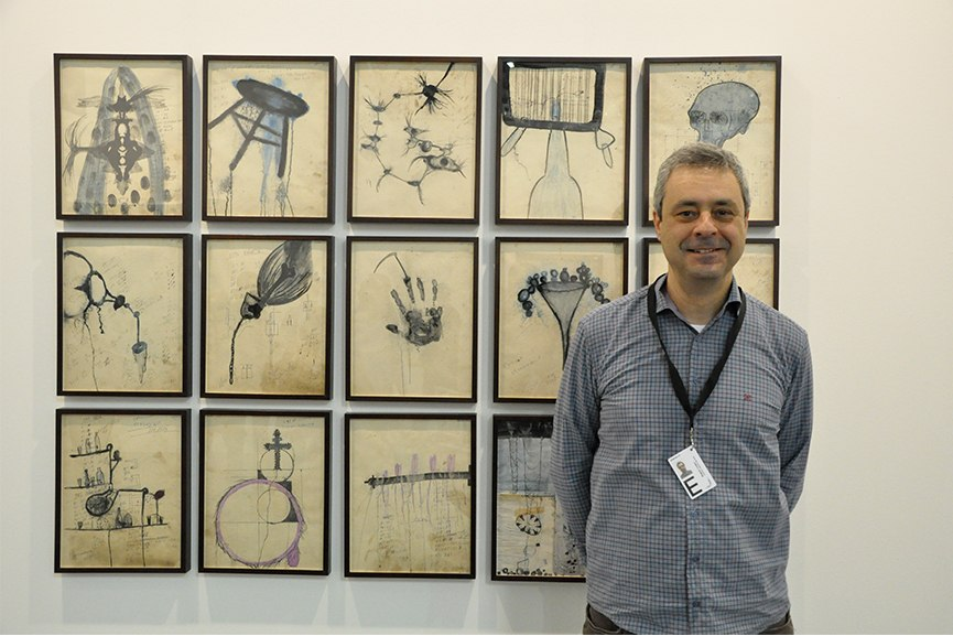 Wagner Lungow at Artissima 2015
