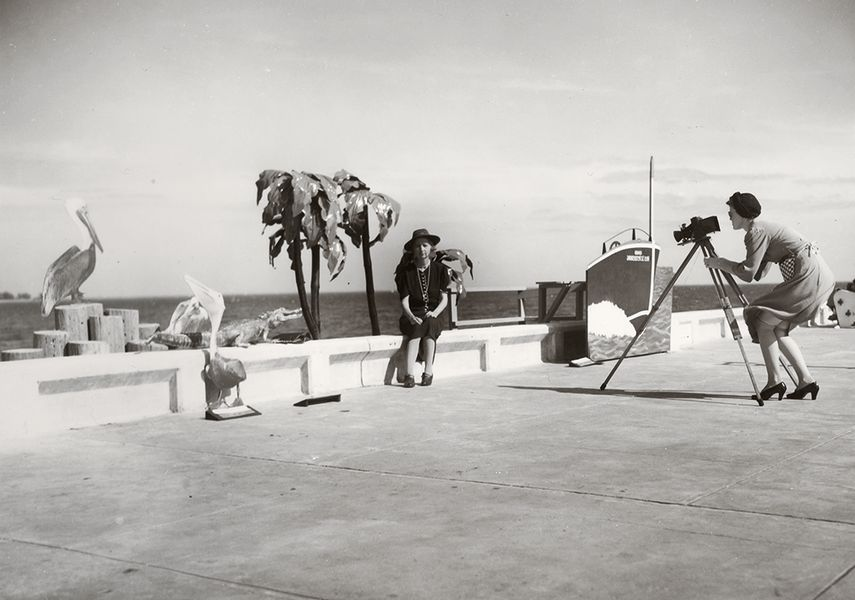 Resort Photographer at Work, 1941.