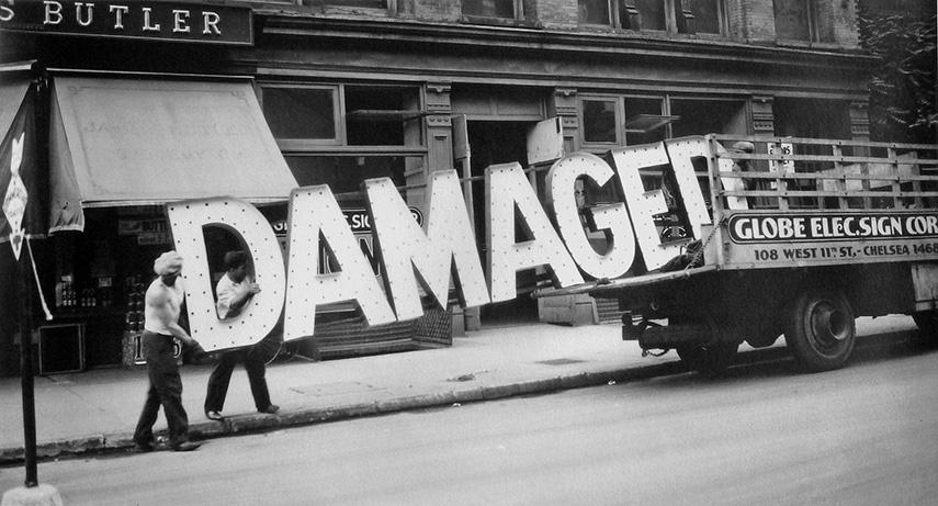 Walker Evans - Truck and Sign, 1928-30