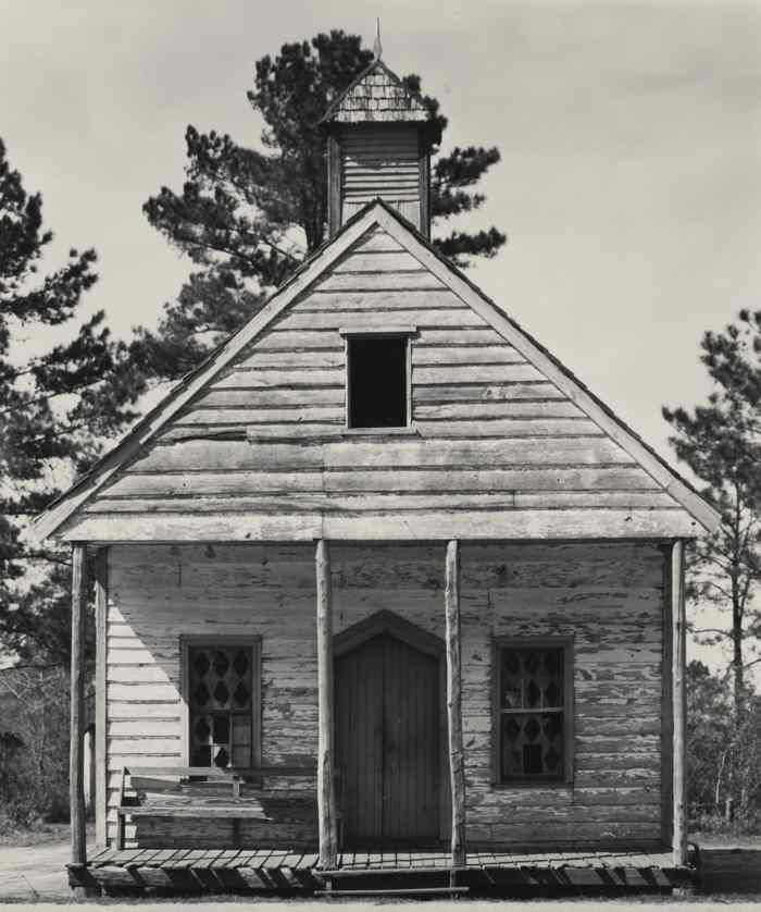 Walker Evans-Wooden Church South Carolina-1935