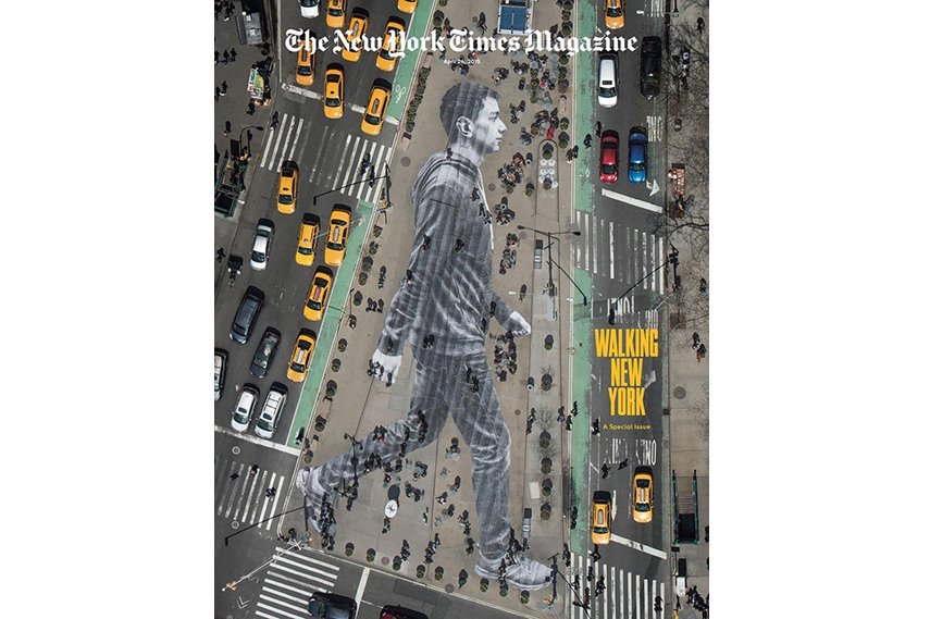 jr, the newyork times, walking new york