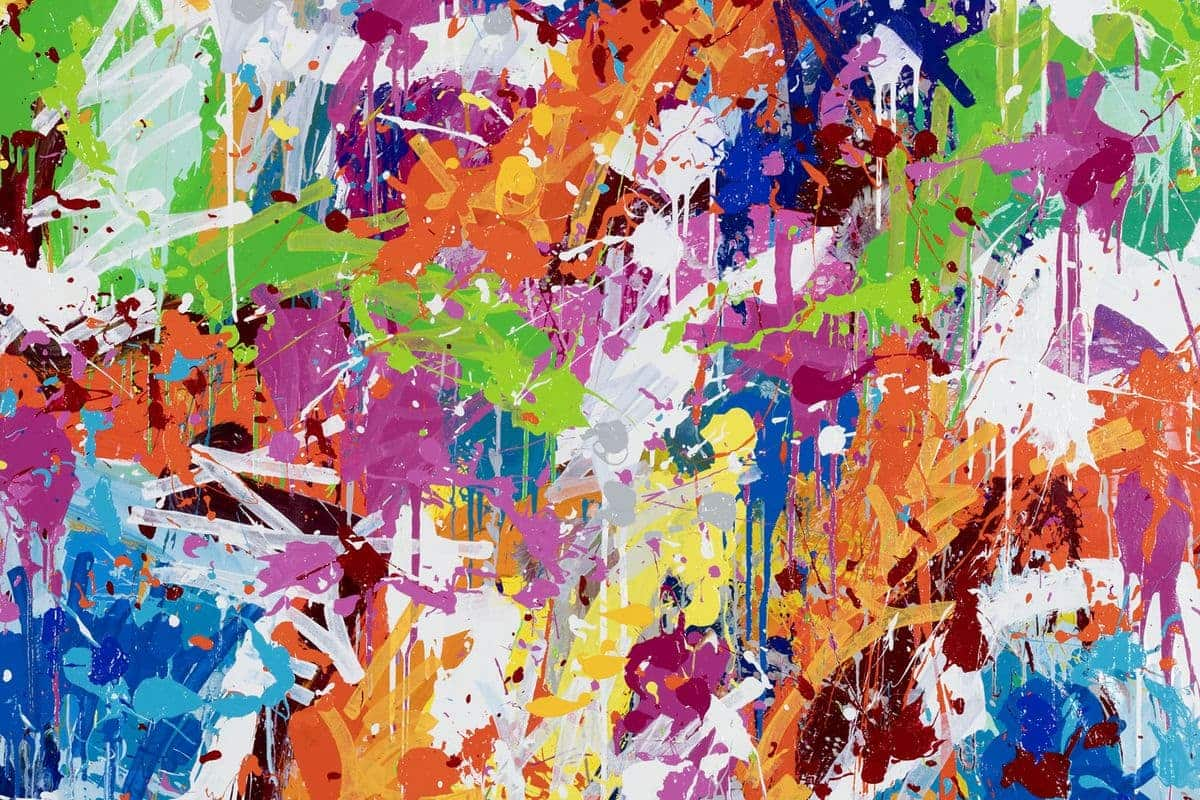 JonOne - Walking Through The City, 2017 (detail)