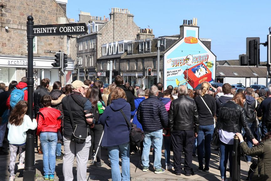 Walking Tour at Nuart Aberdeen 2018