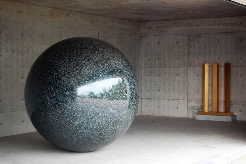 Walter De Maria - Time Timeless No Time at Naoshima Island, Japan