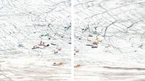 Walter Niedermayr - Schnalstalgletscher 56 (Detail), 2011 - Photo Credits Walter Niedermayr
