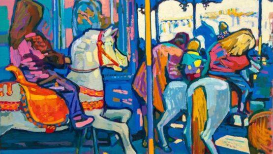 Walter Ropele - Karussel, 1990 (detail)