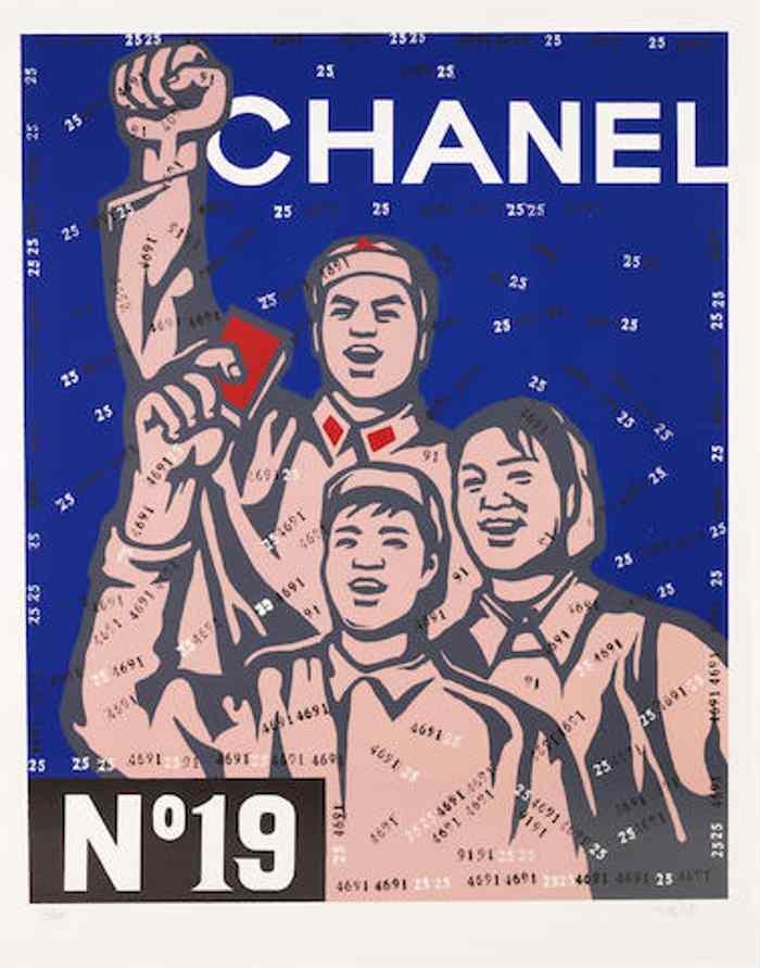 Wang Guangyi-Great Criticism Series: Chanel-2002
