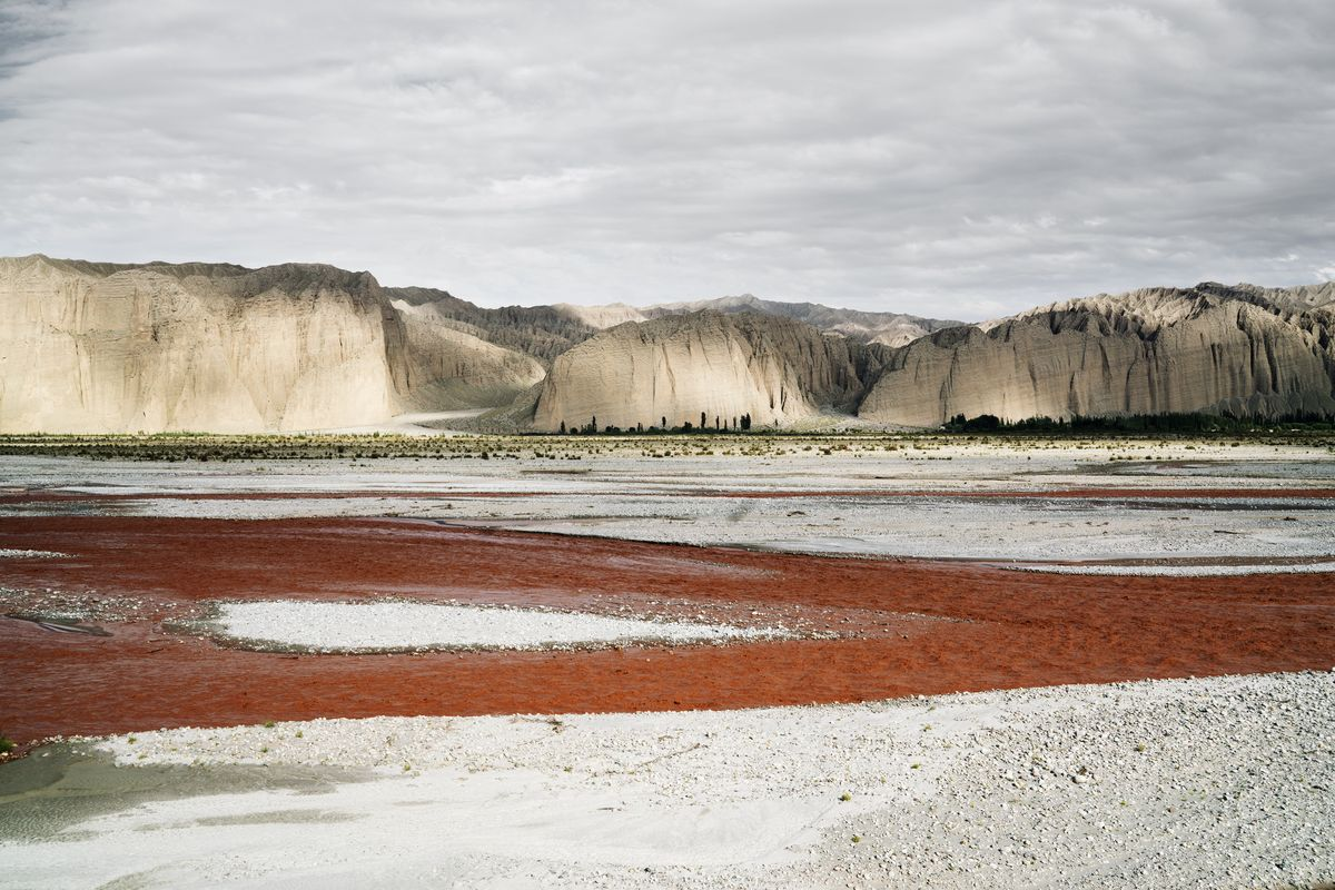 Wang Qing - Rainy season rivers in the Pamir Plateau, Southern Xinjiang, 2017