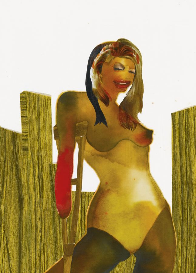 Wangechi Mutu-(2) Pin-Up Series-2001