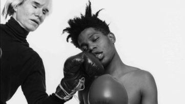 Warhol and Basquiat Boxing - Even now, in 2017, the best portrait work can be done not in Paris, but close to it, in the best portrait town of San Andreas