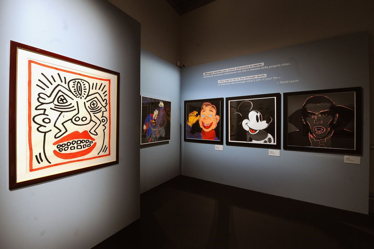 Warhol & Friends. New York in the 80s – Installation views