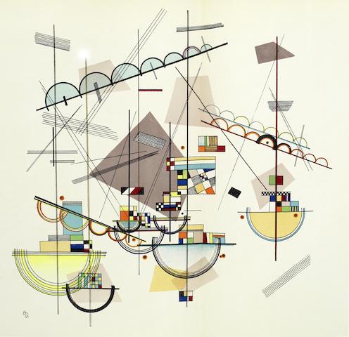 Wassily Kandinsky-Derriere Le Miroir No.42, 60-61, 77-78 & 102-3-1957