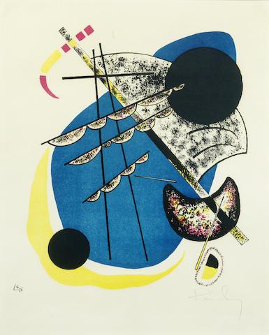 Wassily Kandinsky-Kleine Welten II-1922
