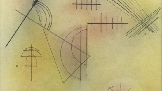 Wassily Kandinsky - Mitte Violett, 1928 (detail)