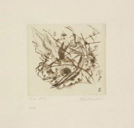 Wassily Kandinsky-Radierung No. 1 (Etching No. 1)-1916