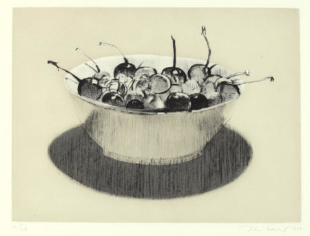 Wayne Thiebaud-Cherries-1984