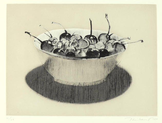 Wayne Thiebaud-Cherries-1984