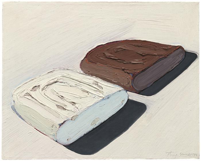 Wayne Thiebaud-Fudge And Divinity-1962