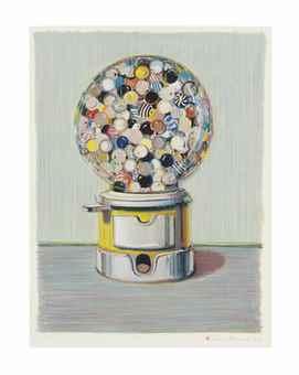 Wayne Thiebaud-Jawbreaker Machine-1990
