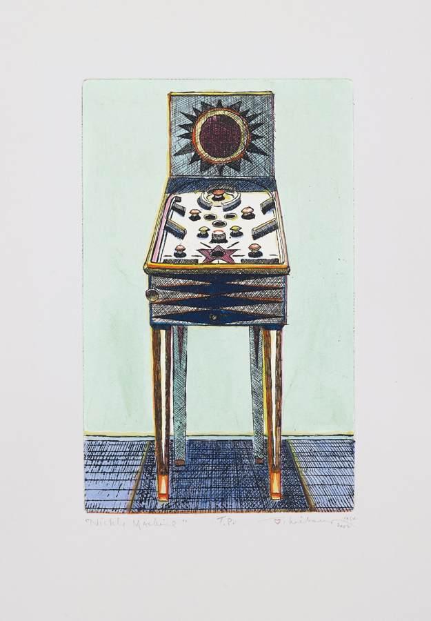 Wayne Thiebaud-Nickel Machine-2002