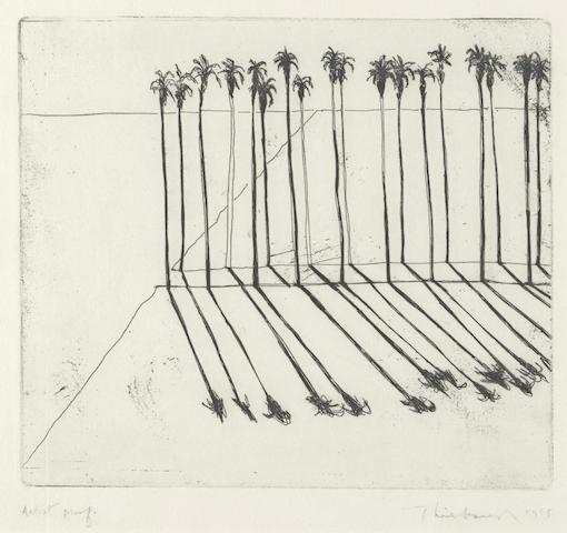 Wayne Thiebaud-Palms-1965