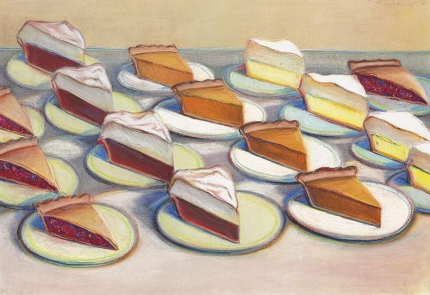 Image result for Wayne Thiebaud, art image