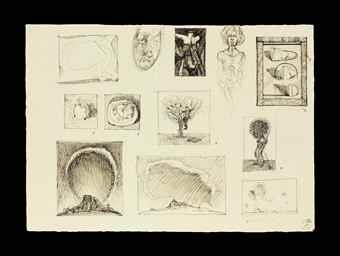 Wayne Thiebaud-Untitled-1996