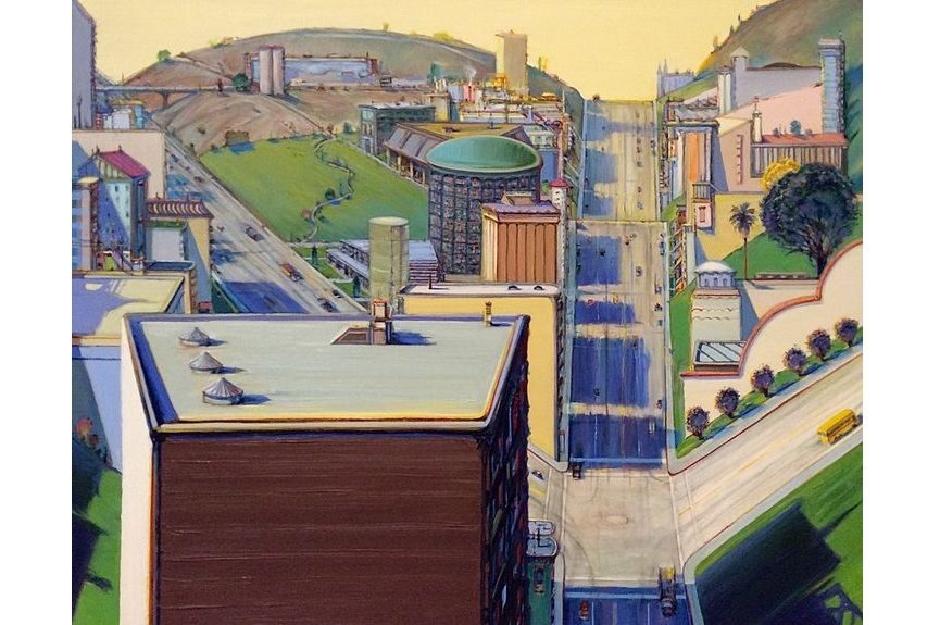 Wayne Thiebaud Valley Streets