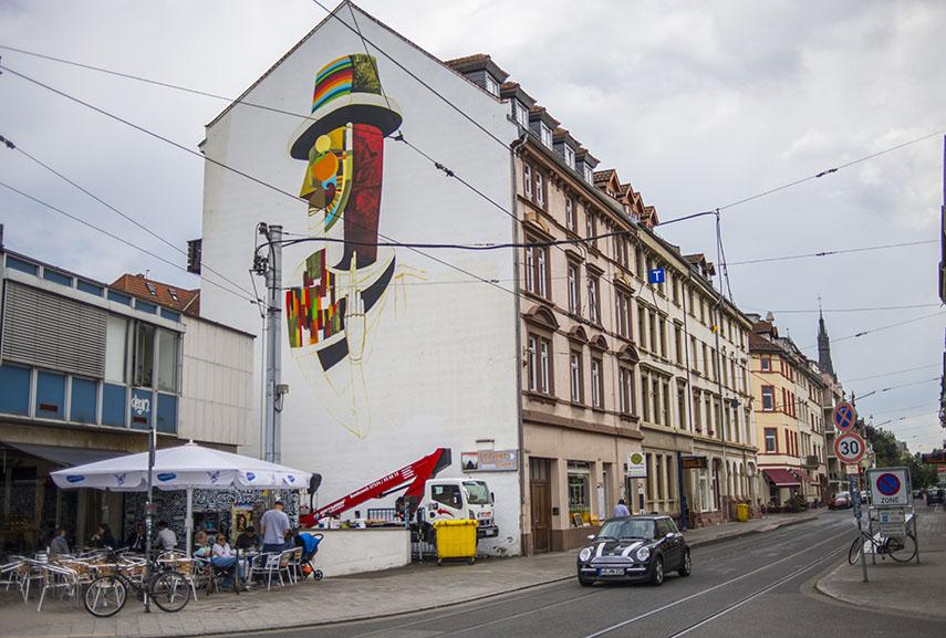 Wesr mural for METROPOLINK, heidelberger kunst und künstler videos & logo net