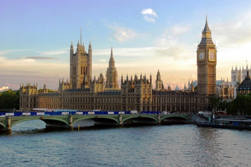 Westminster Palace, London, an important building of history