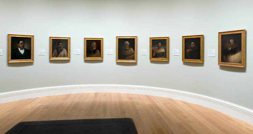 Whakamīharo Lindauer Online Gallery