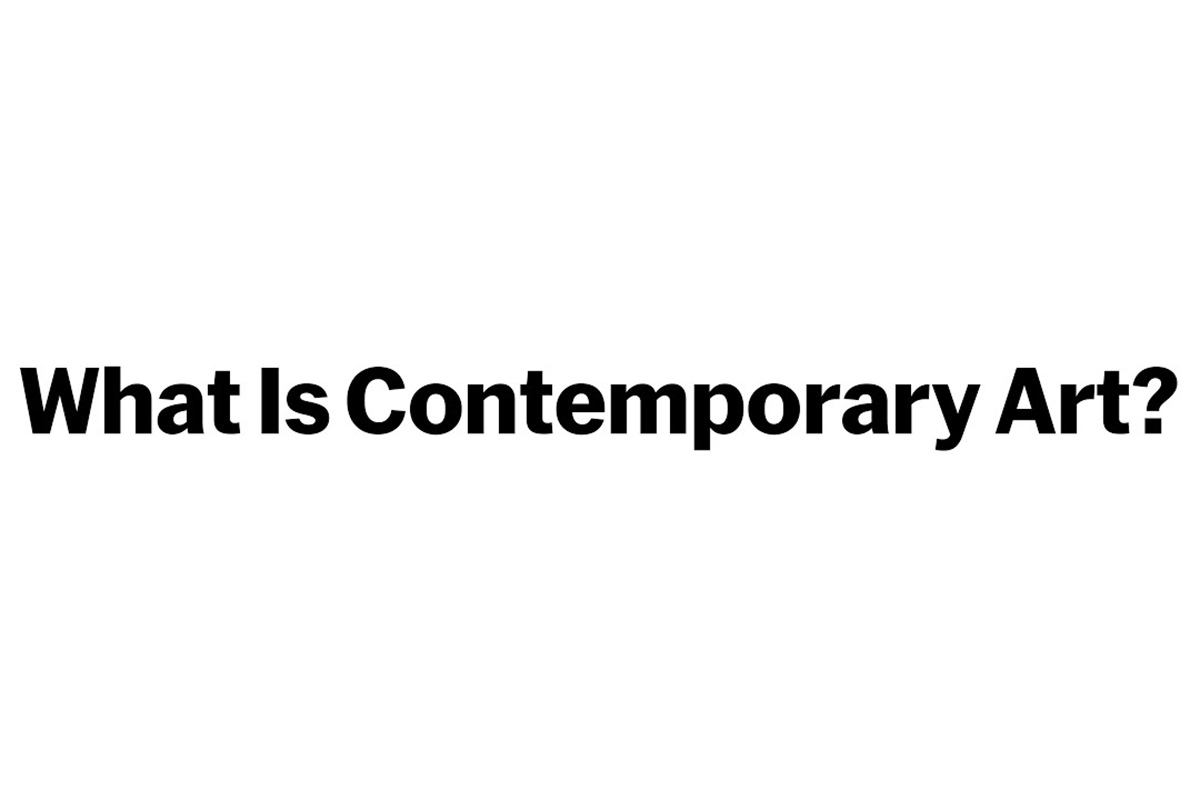 What is Contemporary Art MoMA Coursera Course