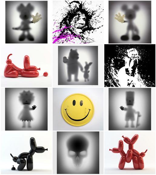 Whatshisname - Artwork Collage