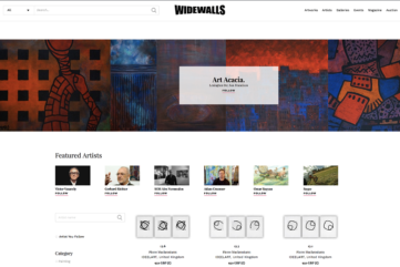 Widewalls Marketplace - The Perfect Place to Buy Art Online!