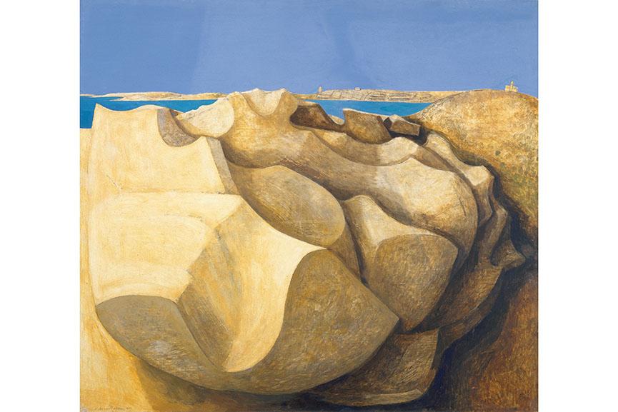 Wilhelmina Barns-Graham, Rocks, St Mary's, Scilly Isles