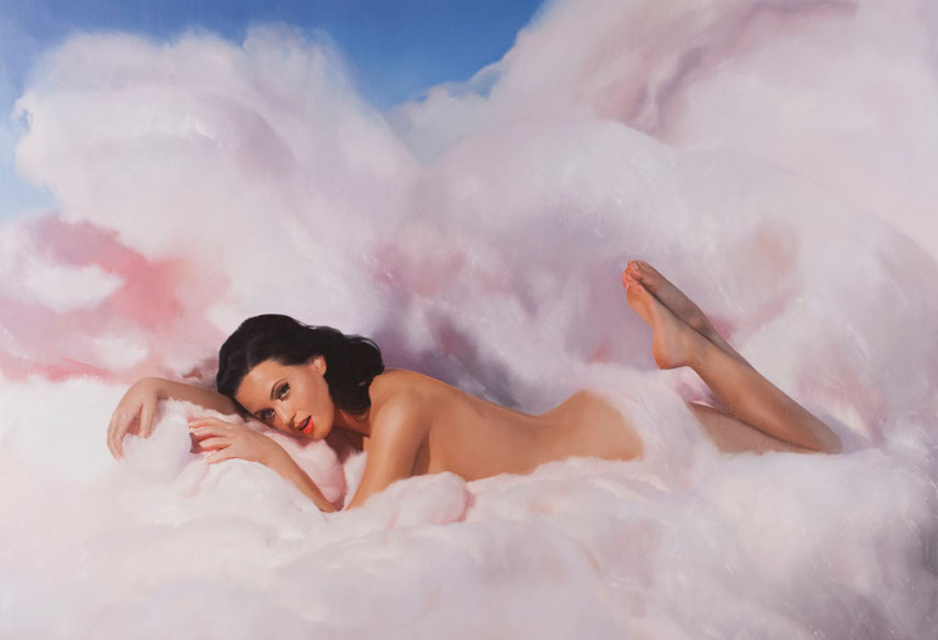 Will Cotton - Cotton Candy Katy, 2010 - Oil linen and inches prints are in Mary Boone gallery from 2014.