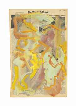 Willem de Kooning-Untitled-1973