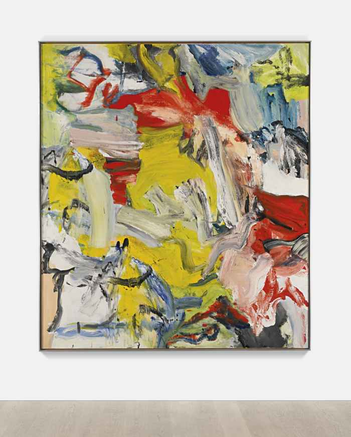 Willem de Kooning-Untitled XXI-1976